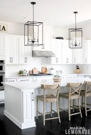 joanna gaines farmhouse kitchen with cabinets upgrading kitchen hardware apartment therapy