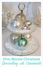 five minute christmas decorating with ornaments tip fox hollow