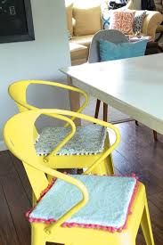 diy no sew reversible chair cushions momadvice