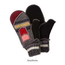 sweater mittens upcycled sweater mittens mitts recycled sweaters cozy