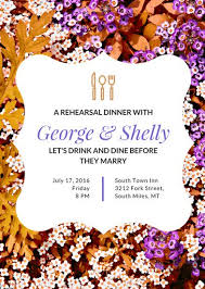 Rehearsal Dinner Invitations Rehearsal Dinner Invitation Templates Canva