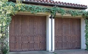 Decorative Garage Door Wood Garage Doors In Santa Ana Ca Ziegler Doors Inc