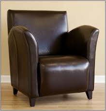 denka leather accent chair light brown u2013 industrial u2013 armchairs