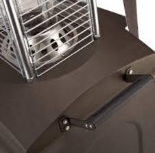 Fire Sense Patio Heater Reviews Fire Sense Mocha Finish Square Flame Patio Heater Review Heating
