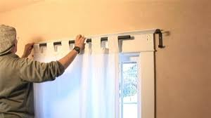 How To Fix A Shower Curtain Rod How To Install Curtain Rods How To Install Curtain Rods Simple How