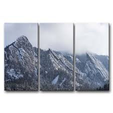 Prints For Home Decor Amazon Com So Crazy Art 3 Pieces Wall Art Painting Flatirons