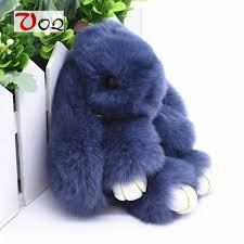 asian rabbit ring holder images 13cm rabbit keychain cute fluffy bunny keychain rex genuine rabbit jpg