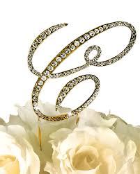 rhinestone monogram cake topper collection rhinestone monogram cake topper in gold letter c