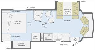 100 class b motorhome floor plans 2018 newmar canyon star