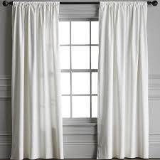 White Drape Curtains U0026 Drapes Williams Sonoma