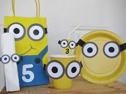 minion gift bags minion party favors despicable meus favor bags minion gift