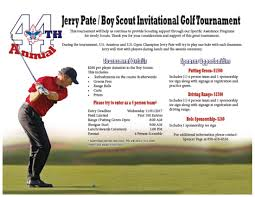 44th annual invitational jerry pate golf tournament registration