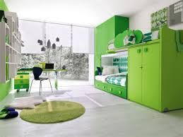 bedroom classy light green kid bedroom decoration using light