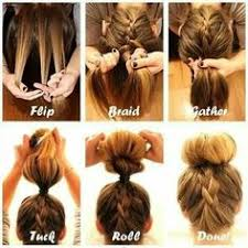 how to braid short hair step by step sock bun hacks tips tricks how to wear hair up in donut