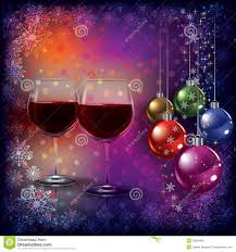 wine birthday wishes abstract christmas greeting with wine glasses royalty free stock