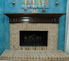 Fireplace Brick Stain by Fireplace Elegance In Wood