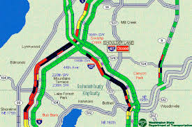 seattle map traffic a 22 traffic increase means a 90 minute drive to seattle