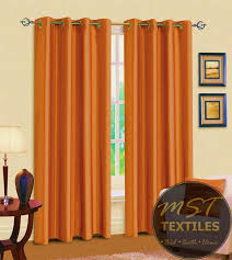 Curtains With Rings At Top Best 25 Orange Eyelet Curtains Ideas On Pinterest Orange Kids