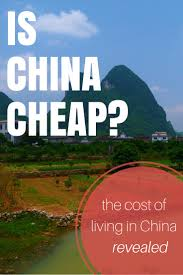 Average Cost Of Groceries Per Month by Is China Cheap The Cost Of Living In China Revealed