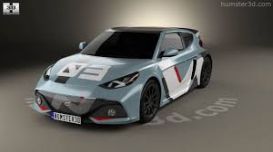 hyundai supercar 360 view of hyundai rm16 2016 3d model hum3d store