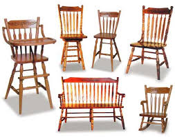 Amish Dining Room Chairs Amish Acorn Dining Room Chairs Amish Dining Room Furniture