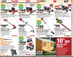 home depot black friday spring 2017 honda home depot ad deals for 5 16 5 22