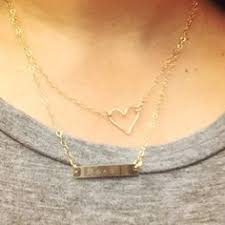 s day necklaces personalized christmas for personalized bar necklace silver bar gifts for