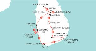 Sri Lanka On World Map by Highlights Of Sri Lanka Sri Lanka Tour Wendy Wu Tours