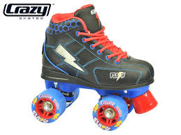 roller skates with flashing lights crazy skates flash kids roller skate with led light up black