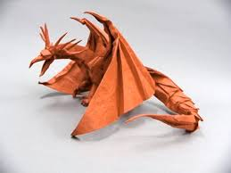 paper dragons 16 best satoshi kamiya origami images on paper