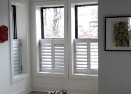 Shutters For Interior Windows Aluminum Exterior Window Shutters Indoor Outdoor Budget Blinds