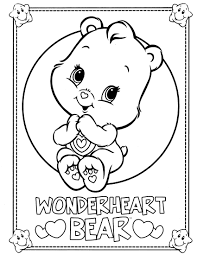 care bears coloring coloring pages care bears