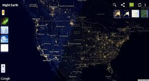 Light Pollution Map Usa by Night Earth Free Android Apps On Google Play