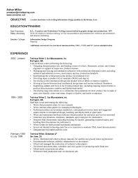 Sample Resume Objectives Psychology by Psychology Resume Samples Database Test Engineer Cover Letter