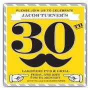 30th birthday invitations for him u2013 gangcraft net
