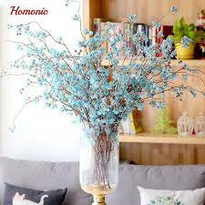 wedding arches branches high quality artificial cherry blossoms branches fabric snowflake