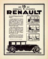 vintage renault vintage advertising art tagged