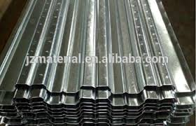 corrugated gi profile floor decking sheet metal decking sheet for