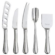 buy robert welch radford cheese knife set 5 piece john lewis