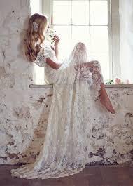 vintage lace wedding dresses discount mansa 2015 vintage lace wedding dress with cap sleeves