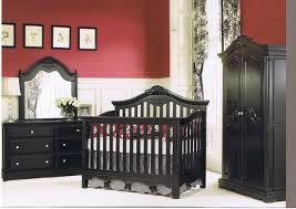 Closet Set by Decor Lovable Dark Brown Munire Baby Furniture Crib Set With