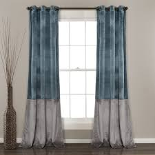 prima velvet solid room darkening window curtain panel set lush