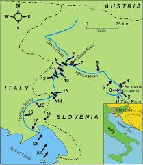 Trieste Italy Map by Slovene Research