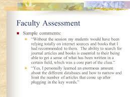 creating an assessment portfolio for your instruction program