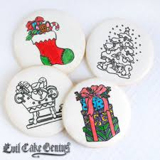 coloring book cookies mesh stencil set