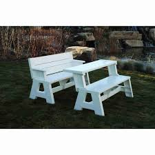 3 piece fitted picnic table bench covers furniture home depot picnic tables best of convertible table