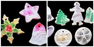 stamped salt dough ornaments u2013 diy christmas tree ornaments