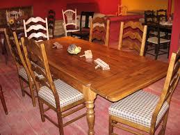 table cuisine en pin meubles de salle à manger table de bois massif faites sur mesure
