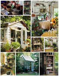 potting shed interior with rustic country design idea best shed
