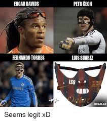 Fernando Torres Meme - edgar davids fernando torres petr cech luis suare ls9 brejkcz